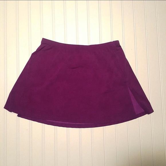 Magicsuit Dresses & Skirts - Magic-Suit Athletic Skirt Purple (P03-18)